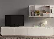 """Danielson Entertainment Unit for TV's for up to 88"""" Ebern Designs"""