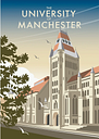 The University of Manchester by Dave Thompson Vintage Advertisement