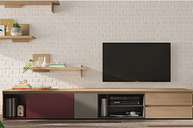 """Danielson Entertainment Unit for TV's for up to 88"""""""