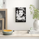 'Judy Garland 2' Graphic Art on Wrapped Canvas East Urban Home Size: 50cm H x 35cm W