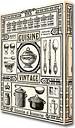 'Vintage Cuisine Kitchen' Graphic Art Print on Canvas East Urban Home Size: 50.8 cm H x 35.6 cm W