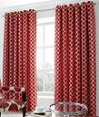 Riverton Eyelet Room Darkening Curtains Canora Grey Size: 228 W x 274 D cm