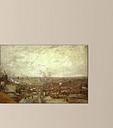 'View from Montmartre' by Vincent Van Gogh Painting Print Rosalind Wheeler Size: 60cm H x 90cm W x 1.8cm D