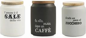 Idee 3 Piece Coffee, Tea & Sugar Jar Set Villa d'Este Home