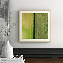 'Green Rows' by Karolis Janulis Framed Photographic Print