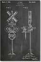 Traffic Signal by House of Borders Graphic Art in Grey East Urban Home
