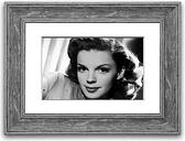 'Judy Garland Retro' Framed Photographic Print East Urban Home Size: 93 cm H x 126 cm W, Frame Options: Walnut