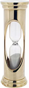 Tabletop Hourglass Symple Stuff Finish: Gold