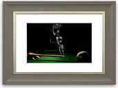 Smoking Cue Cornwall - Picture Frame Photograph Print on Paper