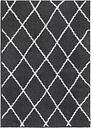Pula Shaggy Anthracite Rug Luxor Living Rug Size: Rectangular 160 x 230cm