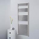 Phoebe Vertical Straight Towel Rail Belfry Heating Finish: Silver, Size: 119.5cm L x 31cm W x 3cm D