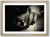 'Pool Cue' Framed Photographic Print