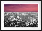 Snowy Alps Framed Photograph