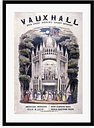 'Vauxhall Gardens, Lambeth, London' Advertisements Marlow Home Co. Format: Framed Paper, Size: 100 cm H x 70 cm W x 2.3 cm D