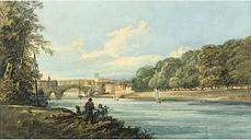 The New Walk, York, C.1798 by Thomas Girtin Art Print on Paper East Urban Home Size: Small