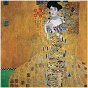 'Portrait of Adele Bloch-Bauer I, 1907' Painting Print on Wrapped Canvas East Urban Home