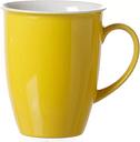 Doppio Coffee Mug (Set of 6) Ritzenhoff & Breker Colour: Yellow