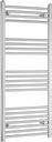 Independent Wall-Mounted Heated Towel Rail Belfry Heating Finish: Chrome, Size: 100cm H x 40cm W x 7.5cm D