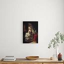 Portrait of Queen Marie Antoinette - Painting Print East Urban Home Format: Wrapped Canvas, Size: 100 cm H x 68.7 cm W x 3.8 cm D
