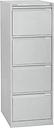 4-Drawer Filing Cabinet Symple Stuff Finish: Goose Grey