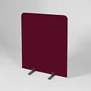 Panel Symple Stuff Colour: Dark Wine, Size: 120cm H x 120cm W x 3cm D