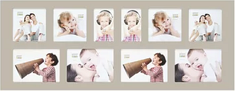 Collage Symple Stuff Colour: Beige, null: null