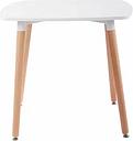 Monahan Side Table Norden Home Colour (Table Top): White