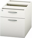 Derry 2-Drawer Lockable Filing Cabinet Mercury Row Finish: White
