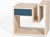 Batholo Side Table with Storage