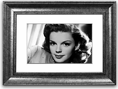 'Judy Garland Retro' Framed Photographic Print East Urban Home Size: 93 cm H x 126 cm W, Frame Options: Gold