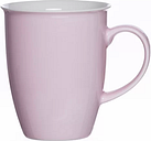 Doppio Coffee Mug (Set of 6) Ritzenhoff & Breker Colour: Pink