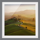 Val d'Orcia - Picture Frame Graphic Art Print on Paper