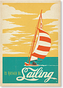 I Would Rather Be Sailing by Anderson Design Vintage Advertisement in Yellow