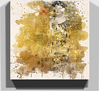 'Portrait of Adele Bloch-Bauer I' by Gustav Klimt Art Print on Canvas East Urban Home