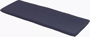 3 Seater Bench Cushion Sol 72 Outdoor Fabric: Navy