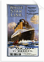 'Titanic, Olympic, White Star Line' Advertisement Breakwater Bay Format: Unframed Paper, Size: 100 cm H x 70 cm W x 0.2 cm D