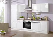 Sophornitella Kitchen Pantry August Grove Colour (Front): Glossy white, Colour (Body): White, Colour (countertop): Walnut