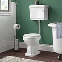 Biermann Low Level Toilet with Lever Flush