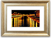 'Reflections 1' Framed Photographic Print East Urban Home Size: 93 cm H x 70 cm W, Frame Options: Silver