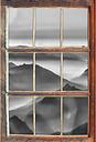 Beautiful Alps Mountains Wall Sticker East Urban Home Size: 62cm H x 42cm W x 0.02cm D