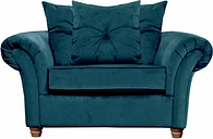 Lila 2 Seater Loveseat Willa Arlo Interiors Upholstery Colour: Teal