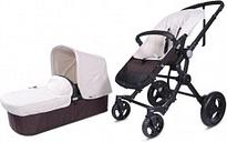 Cochecito Baby Ace Travel System Negro Marfil