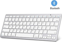 Ultra-Slim 78-Key Bluetooth Keyboard for PC, Mac and Mobile Phones