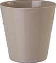 Osłonka okrągła Vulcano - 13 cm - beżowa (cafe latte)