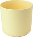 Osłonka okrągła Aruba - 15 cm - żółta
