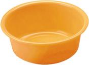 Miska okrągła - śr. 36 cm - pomarańczowa