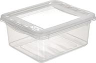 Pojemnik z pokrywą - Bea - 1,7 litra - transparentny
