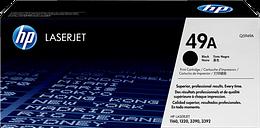 HP 49A Black Original LaserJet Toner Cartridge, Q5949A
