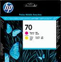 HP 70 Magenta and Yellow DesignJet Printhead, C9406A