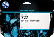 HP 727 130-ml Photo Black DesignJet Ink Cartridge, B3P23A